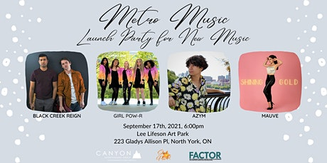 Metro Music - Launch Party for New Music tickets