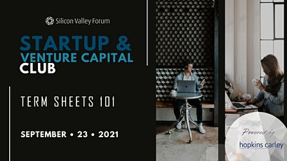 Startup & Venture Capital Club: Term Sheets 101 tickets