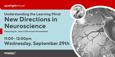Understanding the Learning Mind: New Directions in Neuroscience tickets