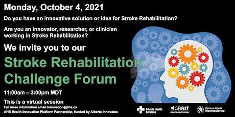 Stroke Rehabilitation Challenge Forum Tickets