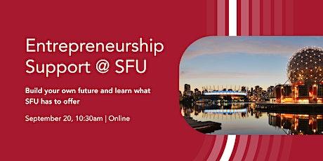 Entrepreneurship support @ SFU tickets