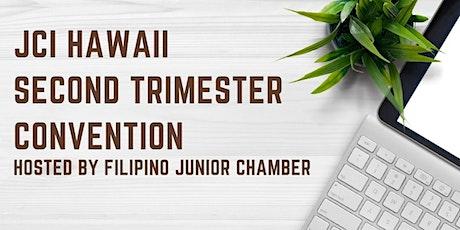 JCI Hawaii Second Trimester Convention tickets