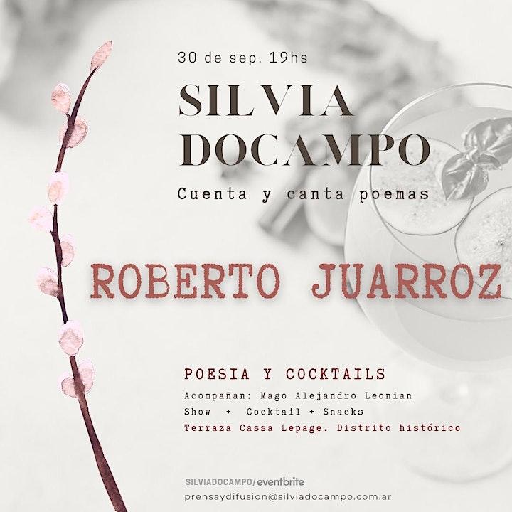 Imagen de Silvia Docampo cuenta y canta la poesía de Roberto Juarroz.