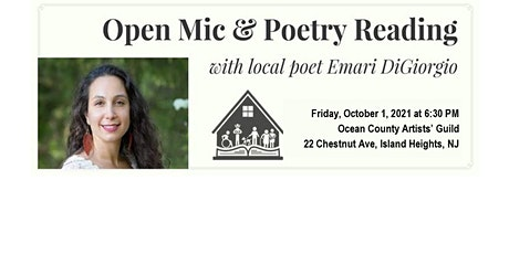Open Mic Night with Poet Emari DiGiorgio, Words & Art-The Stories They Tell tickets