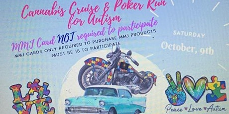 Cannabis Cruise & Poker Run for Autism tickets