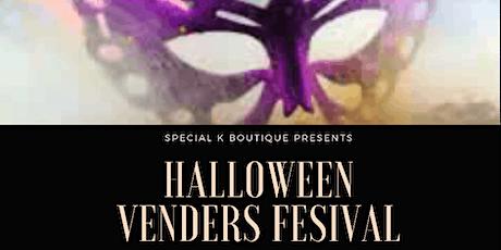 Halloween Vendors Festival tickets