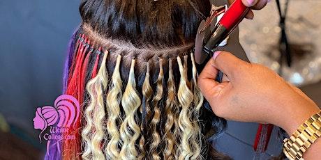 Detroit MI | Hair Extension Class & Micro Link Class tickets