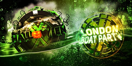 London Halloween Boat Party with FREE  After Party! tickets