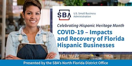 SBA North Florida, Hispanic Heritage Month Event  2021 tickets