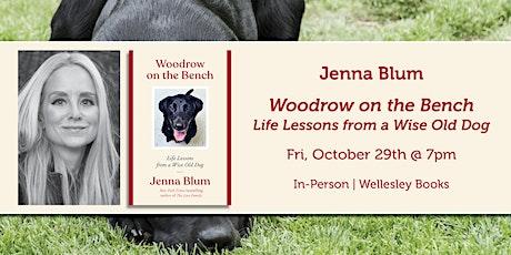 "Jenna Blum presents ""Woodrow on the Bench"" tickets"