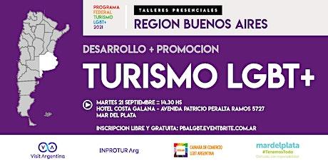 REGION BUENOS AIRES :: PROGRAMA FEDERAL TURISMO LGBTQ+ (evento presencial) entradas