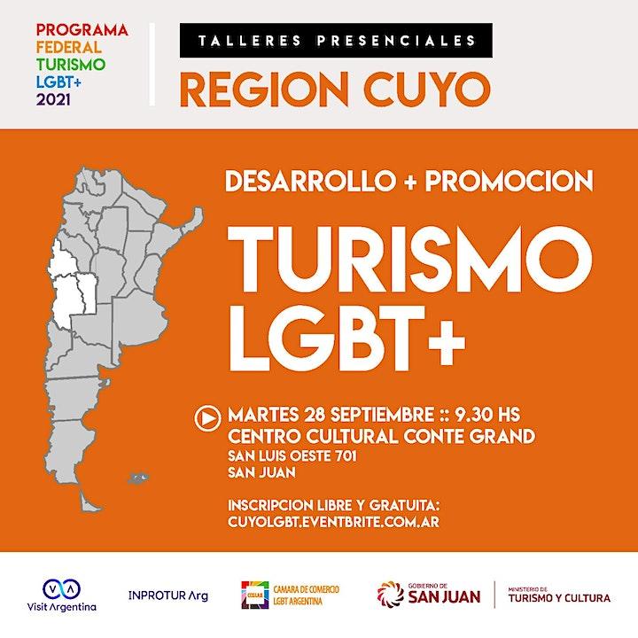 Imagen de REGION CUYO :: PROGRAMA FEDERAL TURISMO LGBT+ (evento presencial)