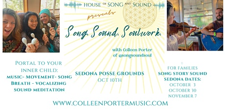 Song. Sound. Soulwork.  (Sedona) tickets