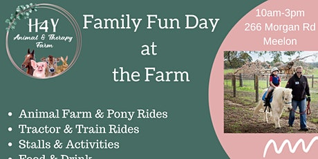 Family Fun Day @ The Farm- Supporting Charity, Homestead For Youth tickets