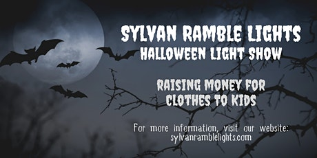 Halloween Light Show - 2021 Fundraiser - Sylvan Ramble Lights tickets