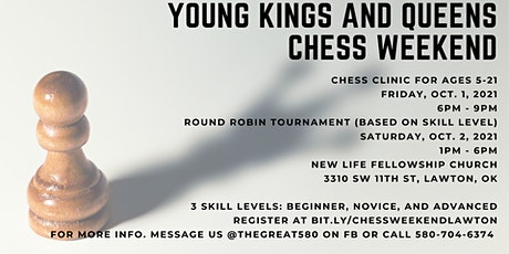 2021 Young Kings and Queens Chess Weekend tickets