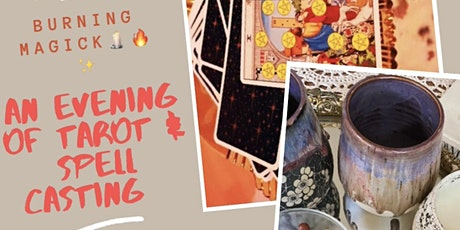 Burning Magick: An Evening of Tarot & Spell Candles at Ethereal Gift Co. tickets