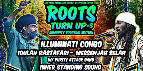 Roots Turn Up #3 - Immunity Boosting Edition tickets