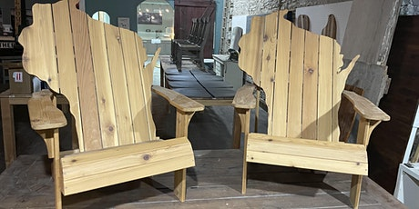Build your own Wisconsin Adirondack chair tickets
