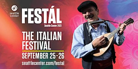 Seattle Center Festál: The Italian Festival tickets