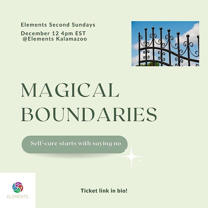 Magic Second Sundays: Magical Boundaries image