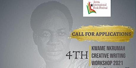 4th Kwame Nkrumah Creative Writing Workshop 2021 tickets