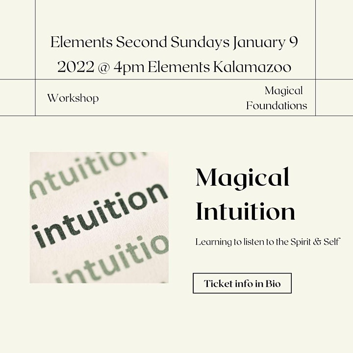 Magic Second Sundays: Magical Intuition image