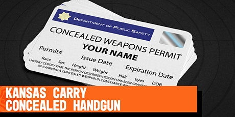Kansas Carry Concealed tickets