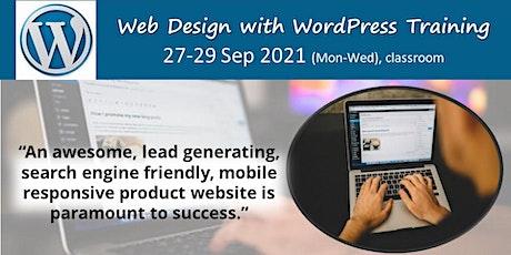Design & Promote Your Website Using WordPress tickets