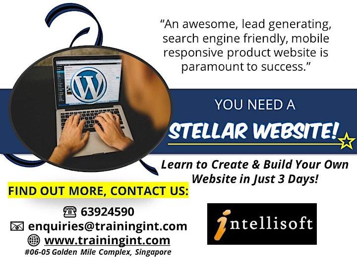 Design & Promote Your Website Using WordPress image