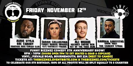 Funny Bizznez Comedy Bournemouth, 5th Anniversary tickets