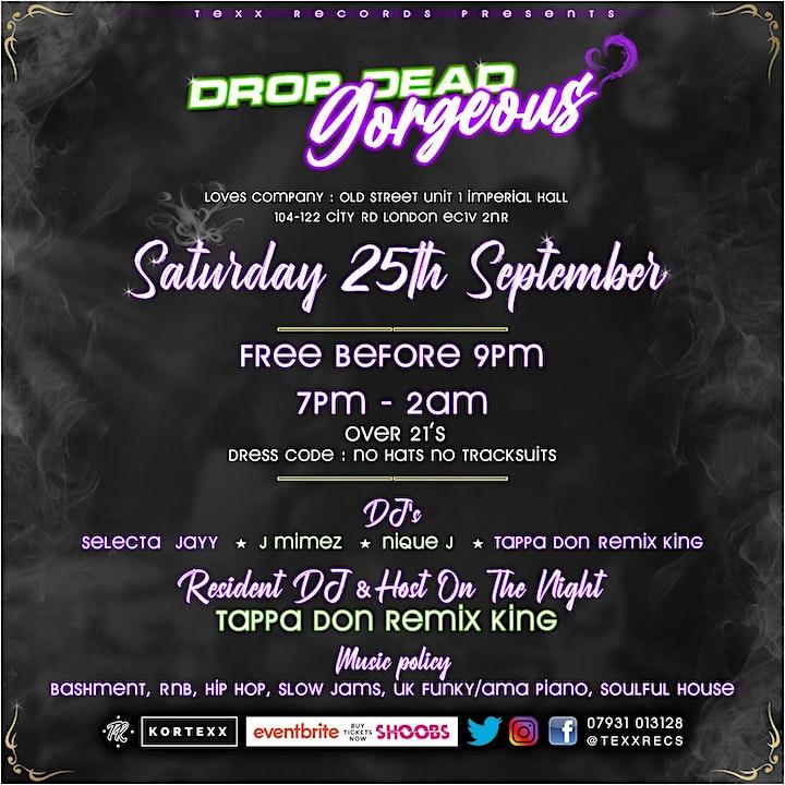 Texx Records Presents:Drop dead Gorgeous image