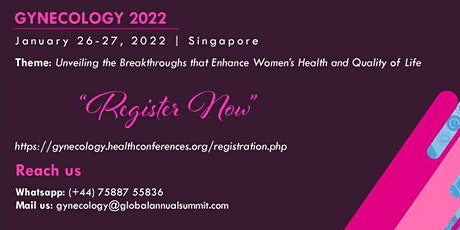 13th World Conference on Gynecology, Obstetrics and Women Health tickets