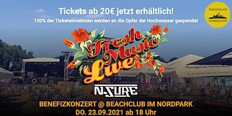 FRESH MUSIC LIVE - Das Benefizkonzert - im Beachclub Düsseldorf! Tickets