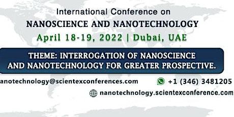 International Conference on Nanoscience and Nanotechnology tickets