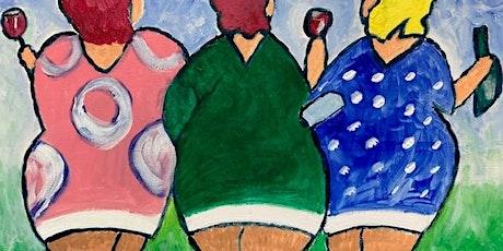 Dikke Dames schilderen - mét lunch! tickets