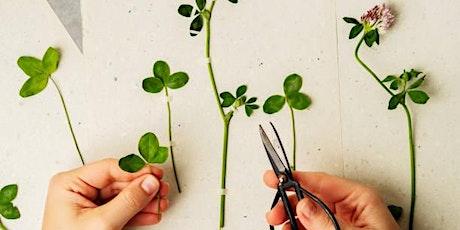 """Atelier """"Un herbier à soi"""" - les plantes de l'Automne billets"""