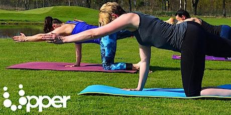 Yoga Pilates nel parco (anni 14+). Max 20 partecipanti biglietti