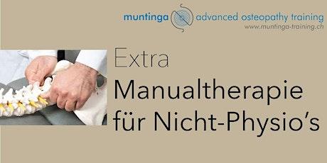 Extra: Manualtherapie für Nicht-PhysiotherapeutInn Tickets