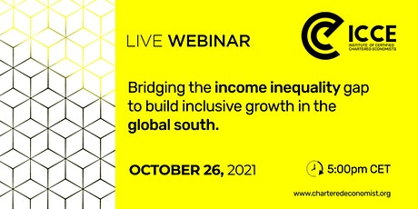 ICCE Webinar: Income Inequality in the global south tickets