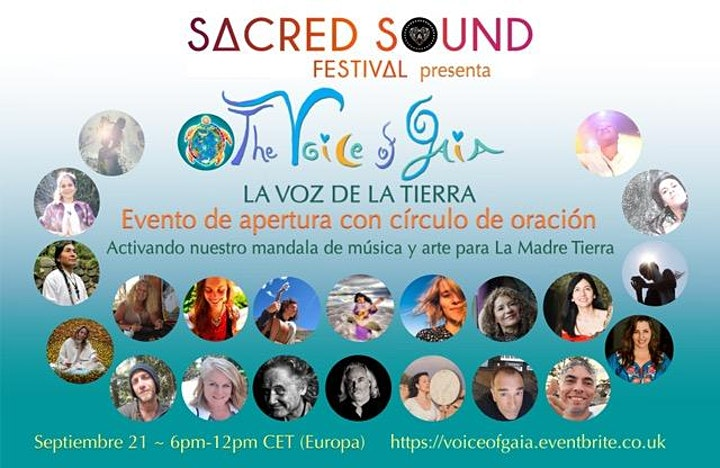 The Voice of Gaia Opening Event with Prayer Circle (Evento de apertura) image
