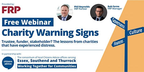 Charity Warning Signs tickets