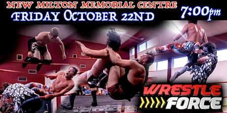 Live Wrestling in New Milton tickets
