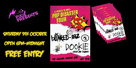 Blinked 182 & Dookie (Green day tribute) At The William Morris Bar tickets