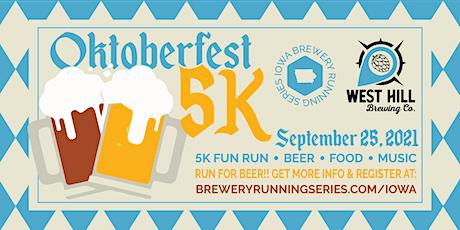 Beer Run - West Hill Brewing   2021 Iowa Brewery Running Series tickets