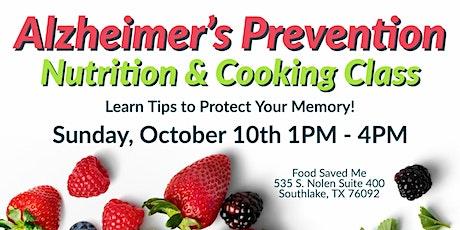 FREE Nutrition Class: Alzheimer's Prevention tickets