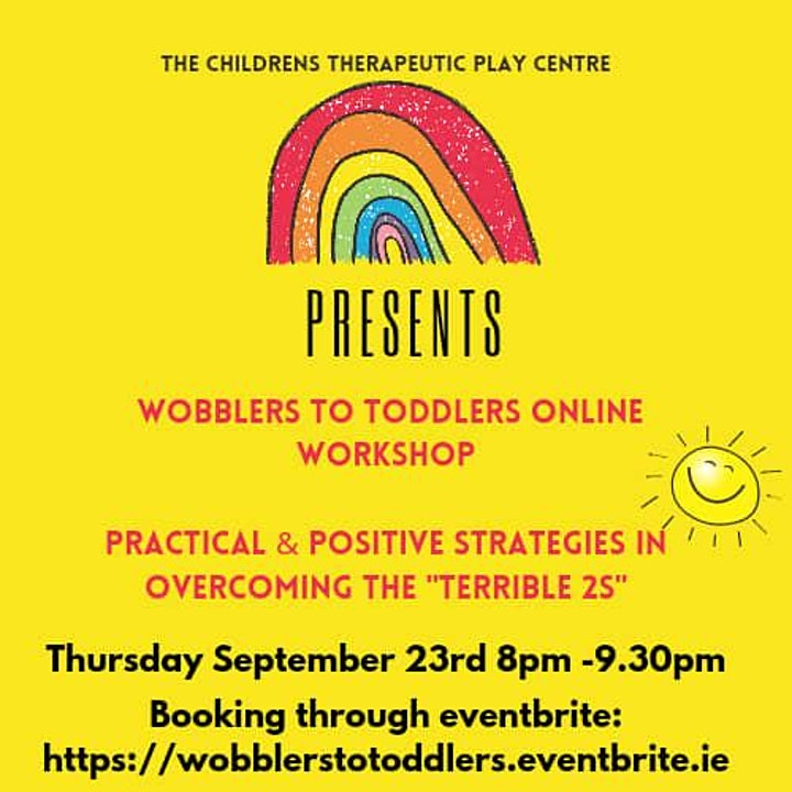 Positive Parenting of Wobblers to Toddlers image