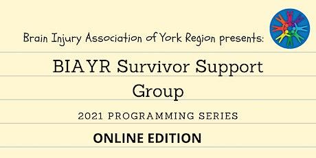 BIAYR Online Survivor Support Group Fall 2021 tickets