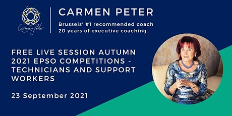 Free Session Autumn 2021 EPSO Competitions Technicians and Support Workers tickets