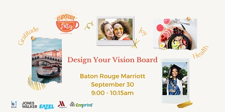 Design Your Vision Board_In Person Event tickets